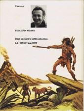 Verso de Tounga (Cartonnée) -2- Et les hommes-rouges