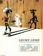 Verso de Lucky Luke -46a81'- Le fil qui chante