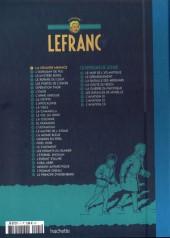 Verso de Lefranc - La Collection (Hachette) -1Test- La Grande Menace