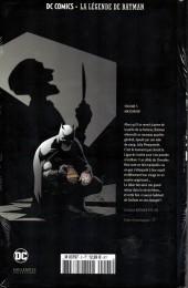 Verso de DC Comics - La légende de Batman -577- Mascarade