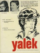 Verso de Yalek -1a- Y comme Yalek