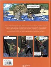 Verso de Le club des cinq (Nataël/Béja) -1- Le Club des cinq et le trésor de l'île