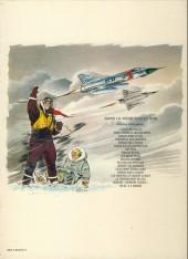 Verso de Tanguy et Laverdure -6c1980- Canon bleu ne répond plus