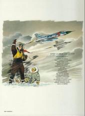 Verso de Tanguy et Laverdure -13b1981- Lieutenant Double Bang