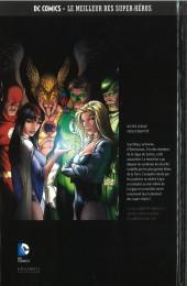 Verso de DC Comics - Le Meilleur des Super-Héros -HS07- Justice League - Crise d'Identité