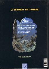 Verso de Le serment de l'Ambre -4- Le désert d'Akaba