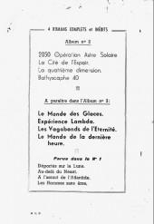 Verso de L'an 2000 -Rec02- Recueil 2 (05, 06, 07, 08)