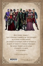 Verso de Legenderry -1- L'Aventure Steampunk