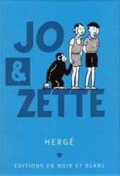 Verso de Jo, Zette et Jocko (Les Aventures de) -COF- Jo et Zette, éditions en N&B coffret