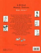 Verso de L'École Marcel-Torgnol -2- Récré : action !