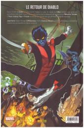 Verso de Amazing X-Men - À la recherche de Diablo