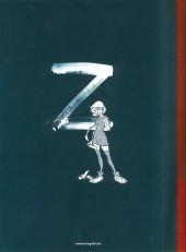 Verso de Zorglub -1TT- La fille du Z