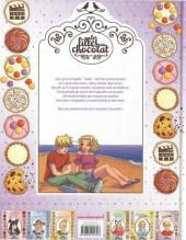Verso de Les filles au chocolat -6- Cœur cookie