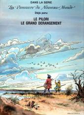 Verso de Les pionniers du Nouveau Monde -2- Le Grand Dérangement