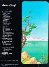 Verso de Tintin - Divers -C3a79- Tintin et le lac aux requins