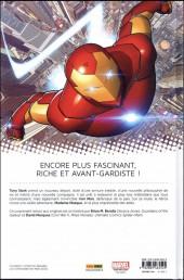 Verso de All-New Iron Man -1- Reboot