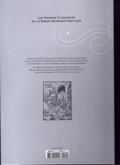 Verso de Les grands Classiques de la Bande Dessinée érotique - La Collection -4064- Justine - Tome 1