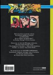 Verso de Steve Ditko - Les archives des années 50 -1- Steve Ditko histoire improbables 1957/1958