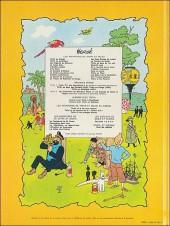 Verso de Jo, Zette et Jocko (Les Aventures de) -5b37- La vallée des cobras