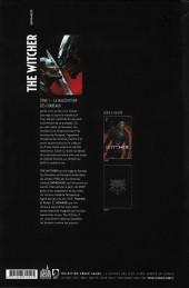 Verso de The witcher -1- La Malédiction des corbeaux