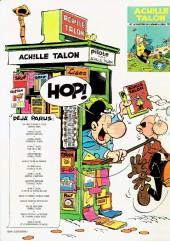 Verso de Achille Talon -13a78- Pas de pitié pour Achille Talon