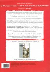 Verso de (DOC) Études et essais divers - Contes et nouvelles de Maupassant adaptés par Battaglia