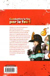 Verso de Fire Force -4- Tome 4