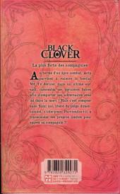 Verso de Black Clover -9- La plus forte des compagnies