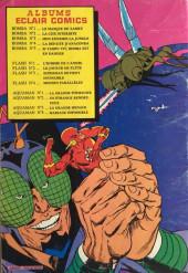 Verso de Aquaman (Eclair comics) -3- La grande menace