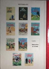 Verso de Tintin - Pastiches, parodies & pirates - Les cigares du Pharaon