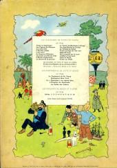 Verso de Tintin (Historique) -6B33- L'oreille cassée