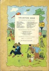 Verso de Tintin (Historique) -8B26- Le sceptre d'Ottokar