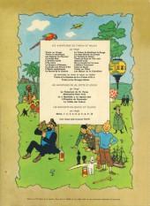 Verso de Tintin (Historique) -8B35Bis- Le sceptre d'Ottokar