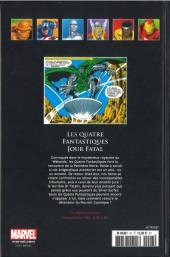 Verso de Marvel Comics - La collection (Hachette) -97IV- Les Quatre Fantastiques - Jour Fatal