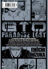 Verso de GTO - Paradise Lost -8- Vol. 8