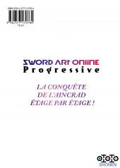 Verso de Sword Art Online - Progressive -6- Tome 6