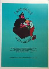 Verso de Tintin - Pastiches, parodies & pirates - Les aventures de Pinpin petit cachotier du crépuscule au pays des sornettes