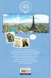 Verso de Guide de Paris en bandes dessinées