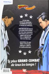 Verso de Superman - Superman vs. Muhammad Ali