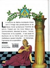 Verso de Les colonnes de Salomon -2- La Mort d'Hiram
