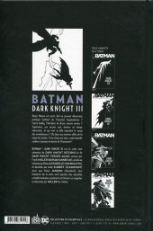 Verso de Batman - Dark Knight III -4- Tome 4