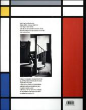 Verso de La fleur dans l'atelier de Mondrian - La Fleur dans l'atelier de Mondrian