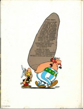 Verso de Astérix -24a83- Astérix chez les Belges