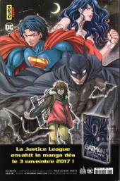 Verso de Justice League Rebirth (DC Presse) -6- Tome 6