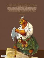 Verso de L'Épée d'Ardenois - Tome INT