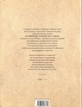 Verso de Théodore Poussin -Cah03- Cahiers Théodore Poussin 3