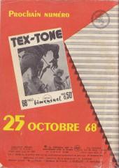 Verso de Tex-Tone -274- Double erreur