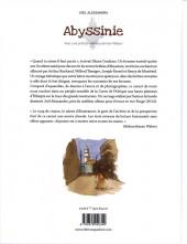 Verso de (AUT) Alessandra - Abyssinie, une traversée dessinée