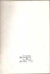 Verso de Spécial Strange -Rec04- Album N°4 (du n°10 au n°12)
