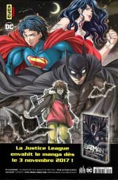 Verso de Justice League - Récit Complet (DC Presse) -HS2- Justice League : Ascension